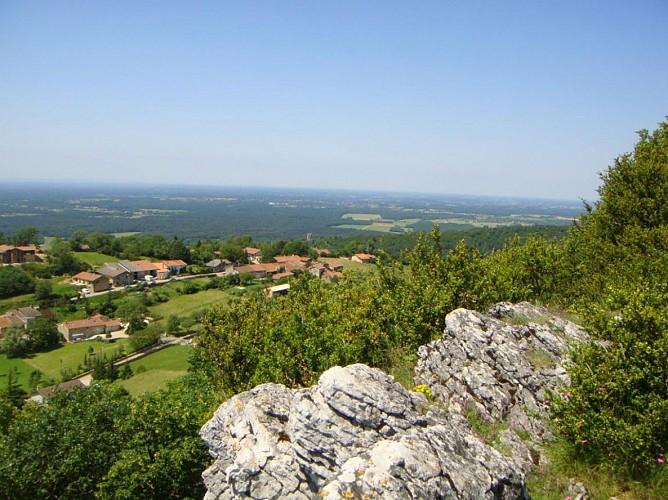 """Circuit n°15 - """"De la Bresse à la vallée de l'Ain"""""""