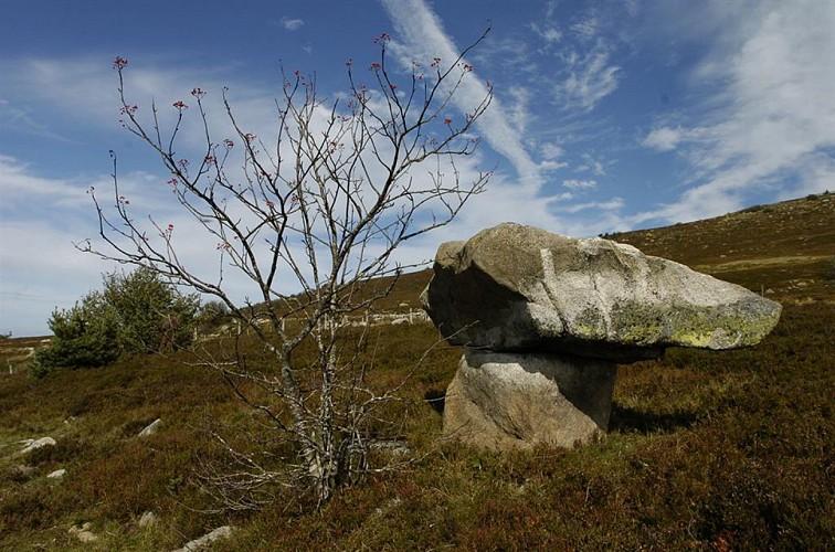 La vallée du Fossat - Les rochers de la Pause