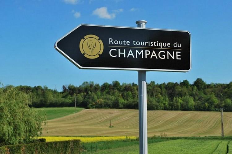 Route touristique du Champagne : Côte des Blancs