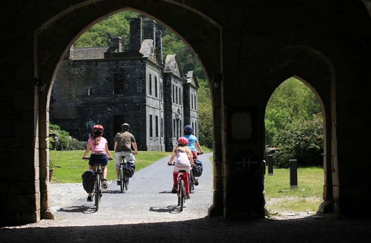 Une journée à vélo sur la Vélodyssée entre Gouarec et Bon-Repos