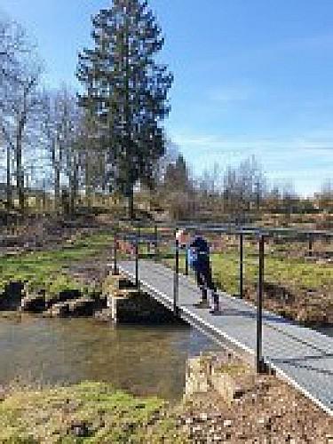 Promenade des Quatre Ponts à Chêne-Ebly