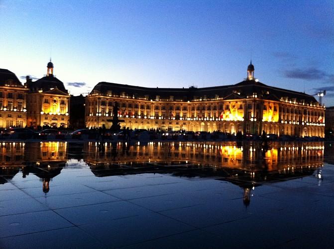 Escapade rapide à Bordeaux, visite de nuit