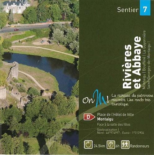 RIVIERES & ABBAYE - Montaigu