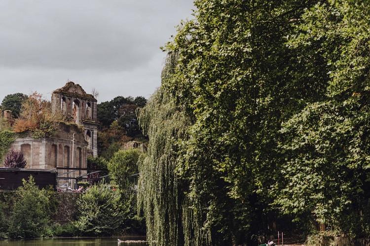 Quartier des moines de l'Abbaye d'Aulne à Thuin