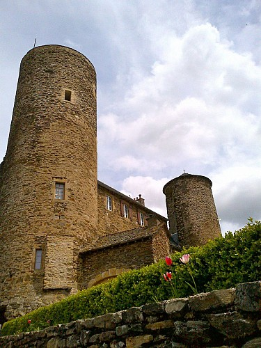 the castle of Pomayrols