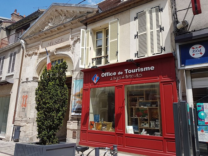 Liaison Eurovéloroute 3 - Office de Tourisme en venant du nord
