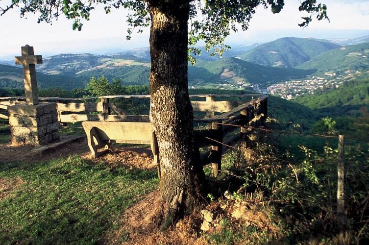 Le panorama du Trépalou, à Pierrefiche
