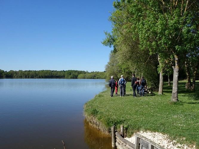 Parcours nature du lac de la Prade