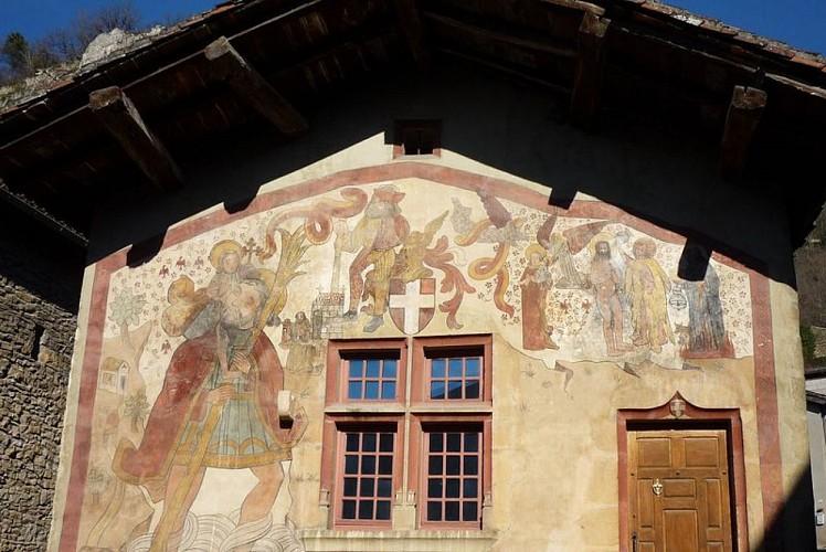 fresque Saint-Sorlin-en-Bugey