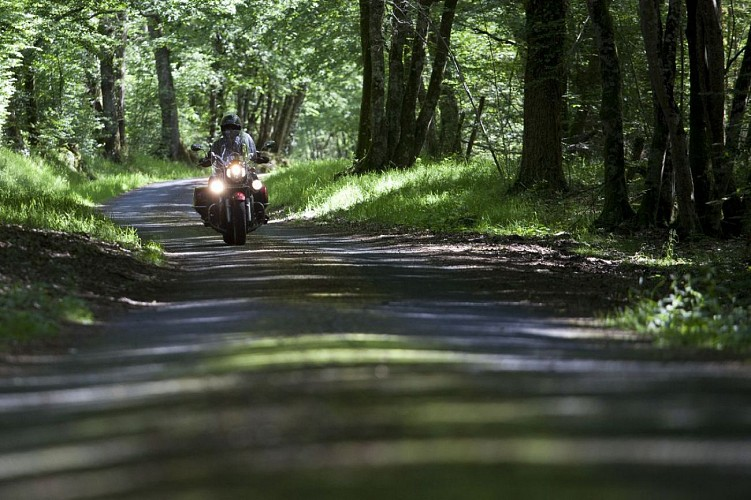 Le Loiret à moto : D'Orléans aux forêts de Sologne