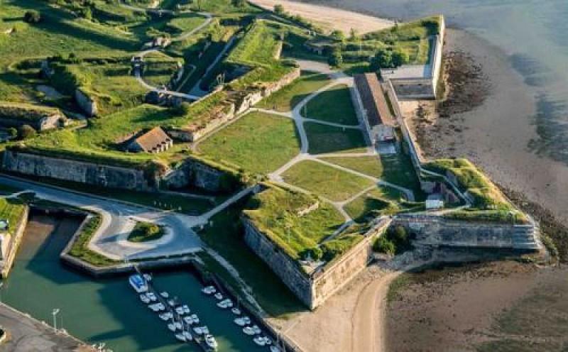 Estran et Citadelle du Chateau d'Oleron
