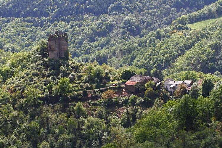 La vallée du Vernhou et Campels