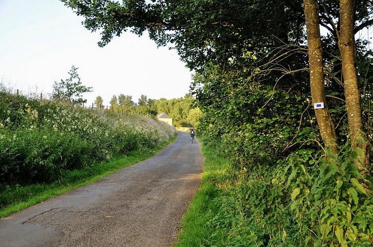 Le Sentier de la Batte à Halanzy