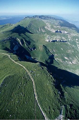 Randonnee Les alpages de la haute chaîne