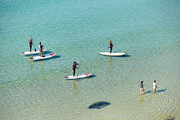 Le Bout du Monde en Stand-Up-Paddle