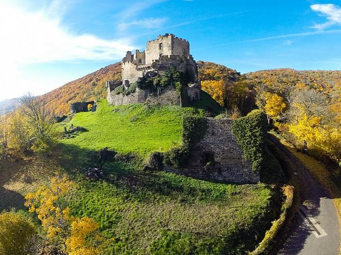 Le château de Tournoël
