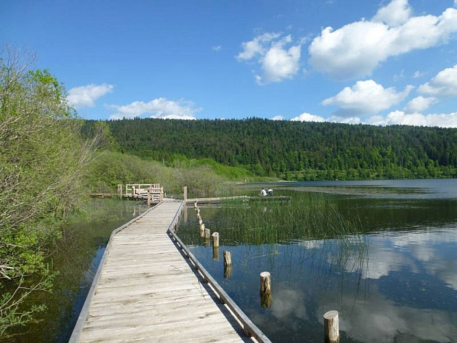 Sentier de découverte des Rives du Lac de Bouverans