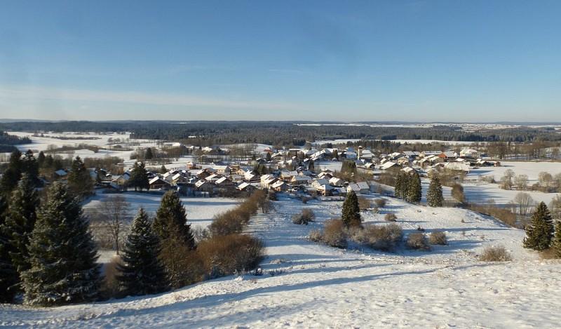Sentier du village de Bonnevaux