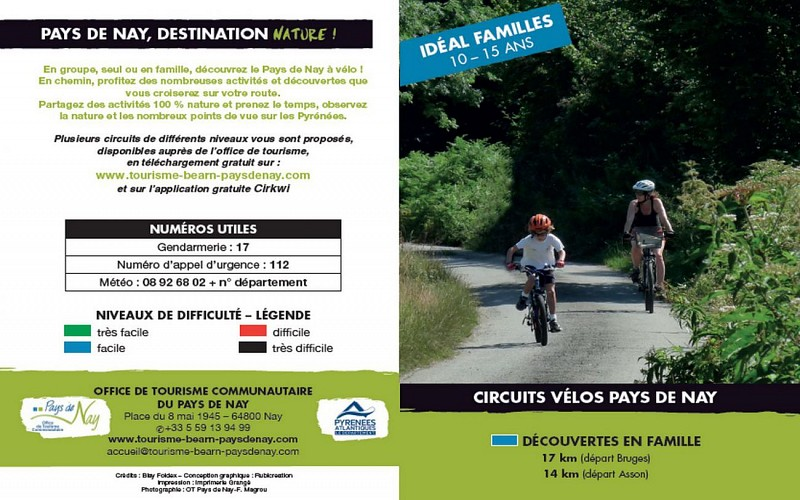 Circuit vélo 3 : découverte en famile