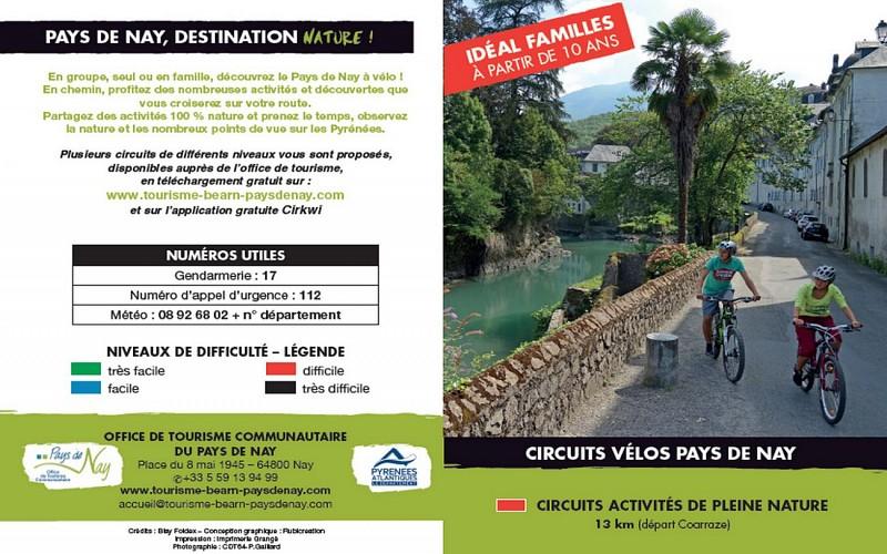 Circuit vélo 4 : multi-activités de pleine nature en famille