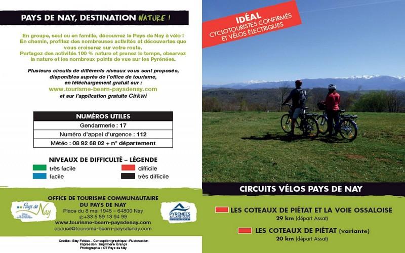 Circuit vélo 5 : les coteaux de Piétat et la voie ossaloise