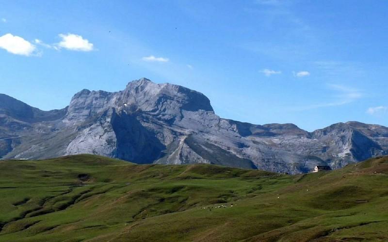 Les crêtes d'Andreyt au col d'Aubisque en Vallée d'Ossau
