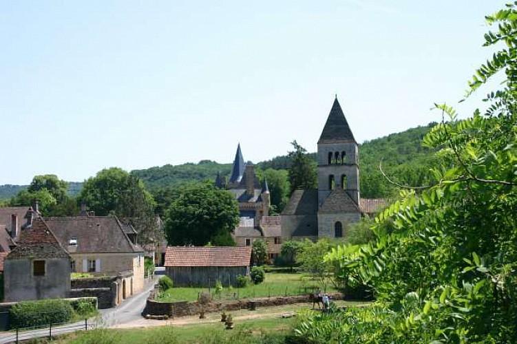 Boucle du Tour de Saint Léon. Plus beaux villages de France