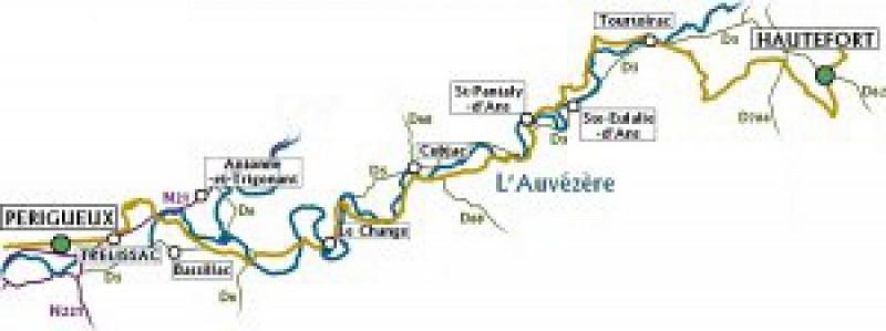 Dans la roue de Lawrence d'Arabie Etape 3 Périgueux-Hautefort