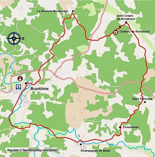 Coup de Coeur du Comité de Cyclotourisme Brantôme