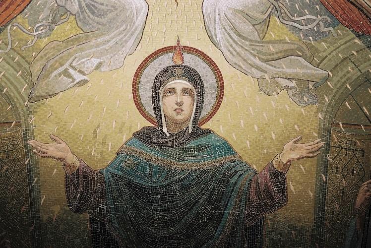 3 Basiliques, 3 Arts : Vitrail, Mosaïques et Gemmail