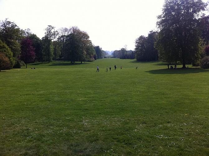 Balade autour des jardins du château de Compiègne
