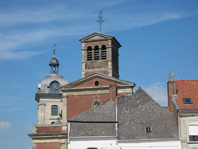 Le Quesnoy église et beffroi