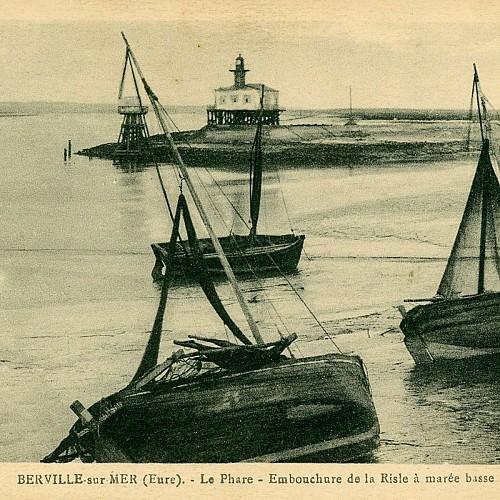 Ancien port de pêche à marée basse