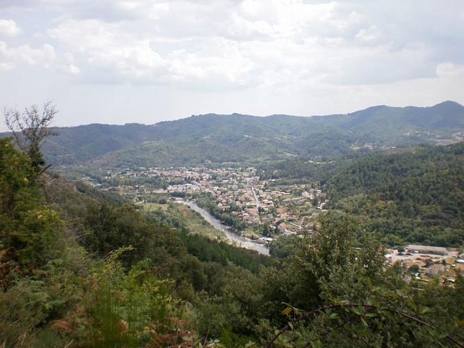 Circuit les Terrisses à Lalevade-d'Ardèche