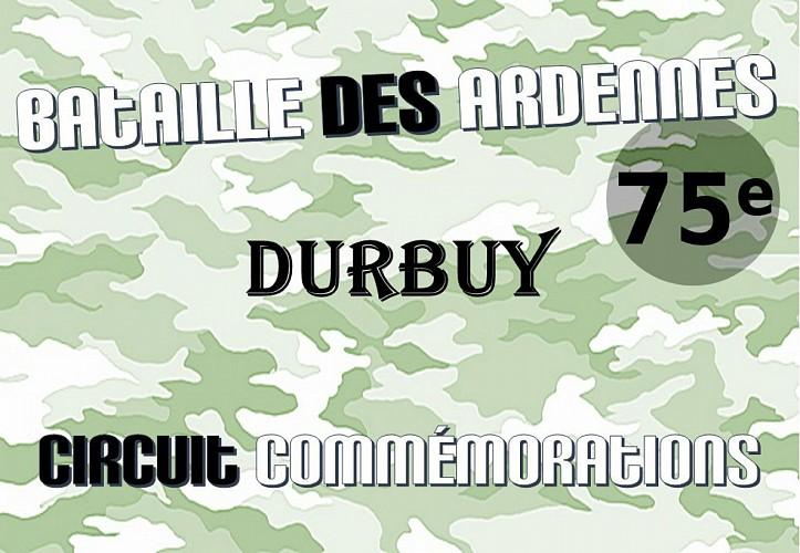 Durbuy: Circuit commémorations 75ème anniversaire Bataille des Ardennes