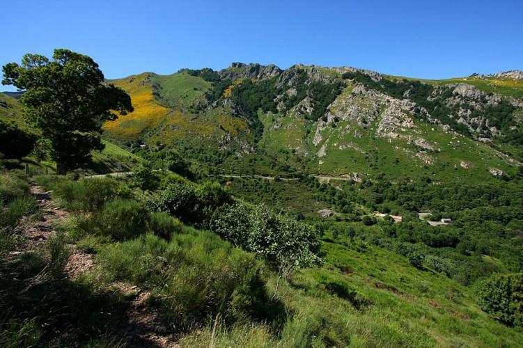 Circuit du Rocher d'Abraham à Mayres