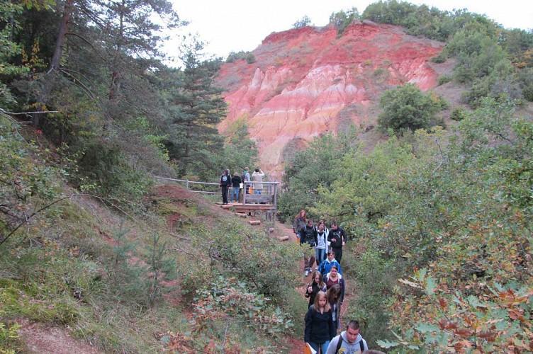 Parcours Marche Le Sentier Des Cheminees De Fees Vallee Des