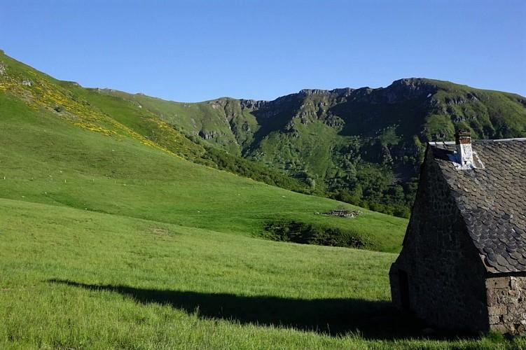 Montée du Plomb du Cantal depuis St Jacques des Blats