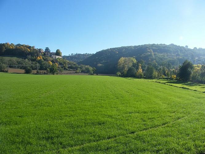 Bellegarde en Forez - La Montagne par Saint Cyr