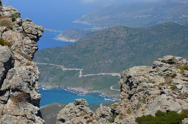 Randonnée Fenu - Pinzu à Verghine - Tour de Sénèque - Fenu (Luri - Cap Corse)
