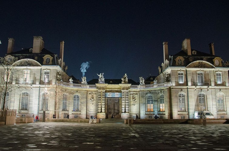 Palais Rohan de nuit