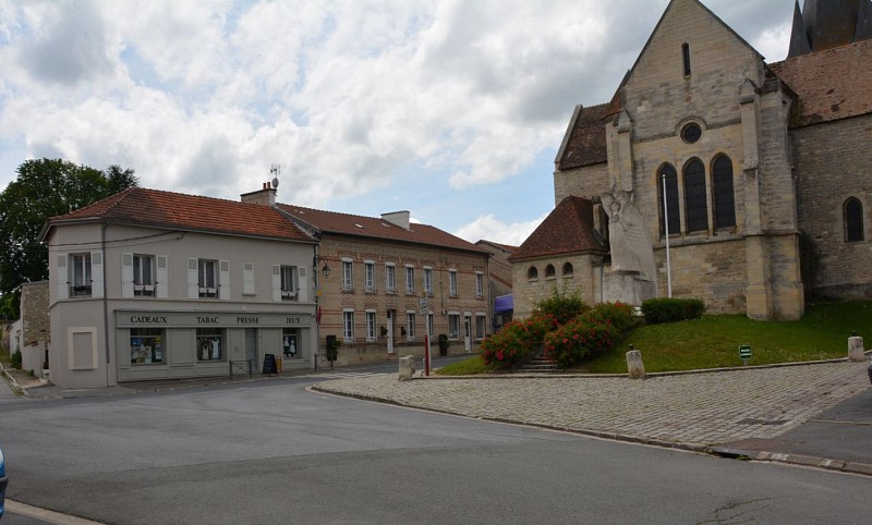 La place Saint-Vincent