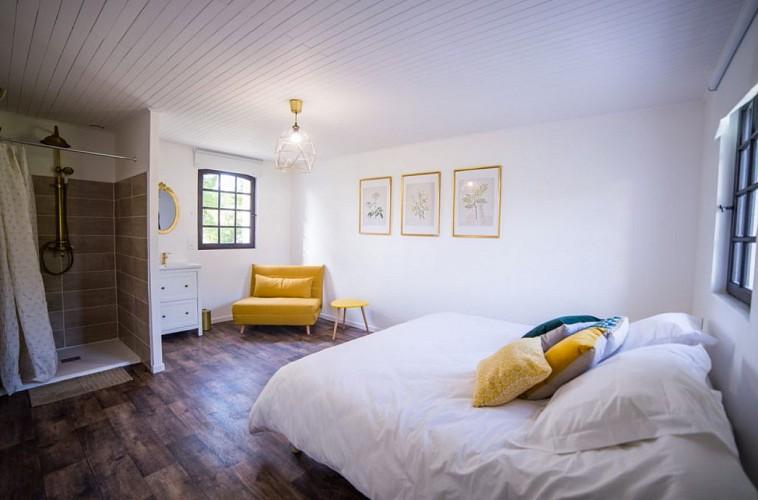 Chambre moutarde - Domaine de Bouhemy