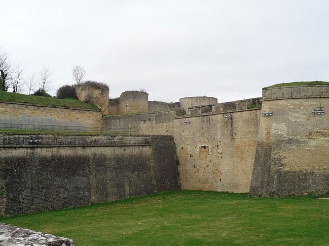 Citadelle et ville de Blaye
