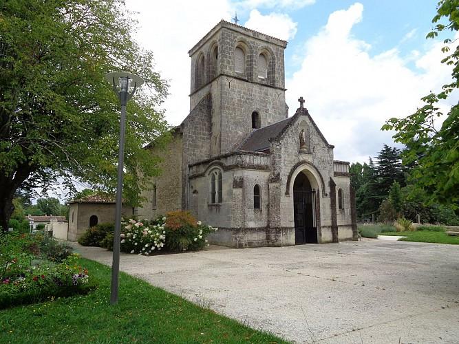 Eglise romane et château Betailhe