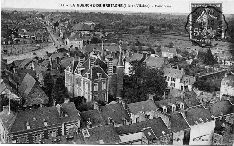 Le «château», place du Guesclin