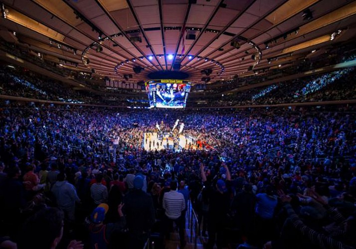 NBA - ticket per la partita dei Knicks al Madison Square Garden - New York