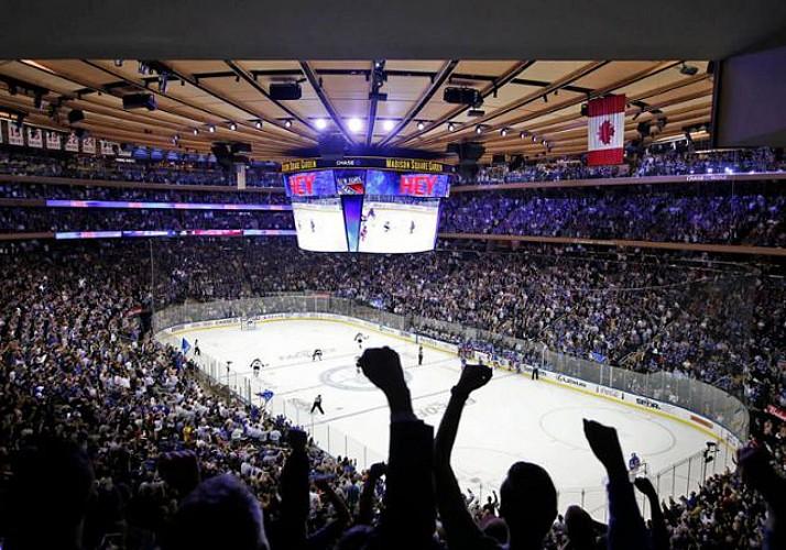 NHL (hockey) - Billet pour un match des Rangers au Madison Square Garden - New York