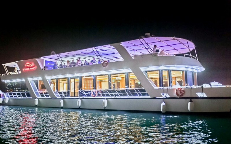 Marina Sunset Cruise with Live Music & Dinner Buffet