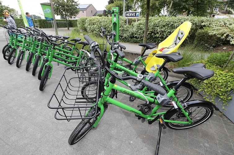 Location de vélos- Maison du Tourisme du Pays de Herve